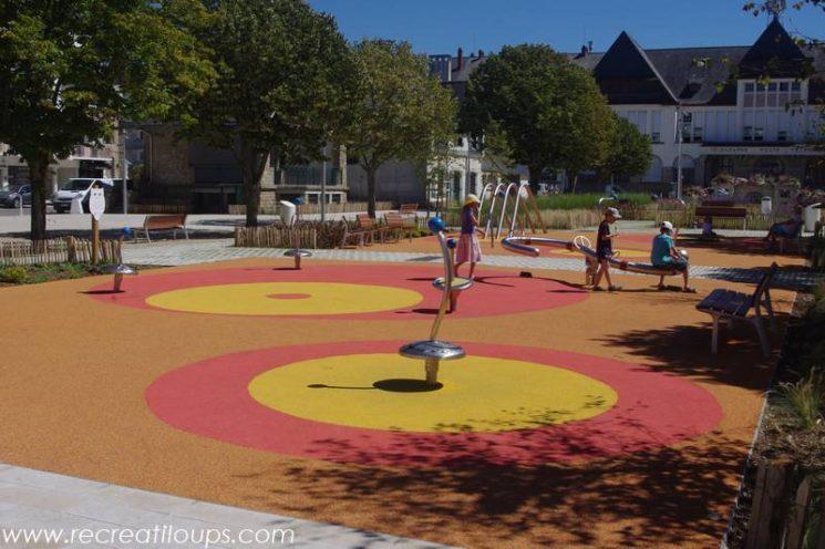 Aire de jeux pour les enfants, La Baule
