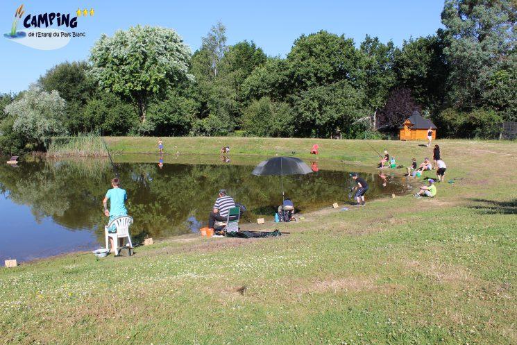 Concours de pêche au camping