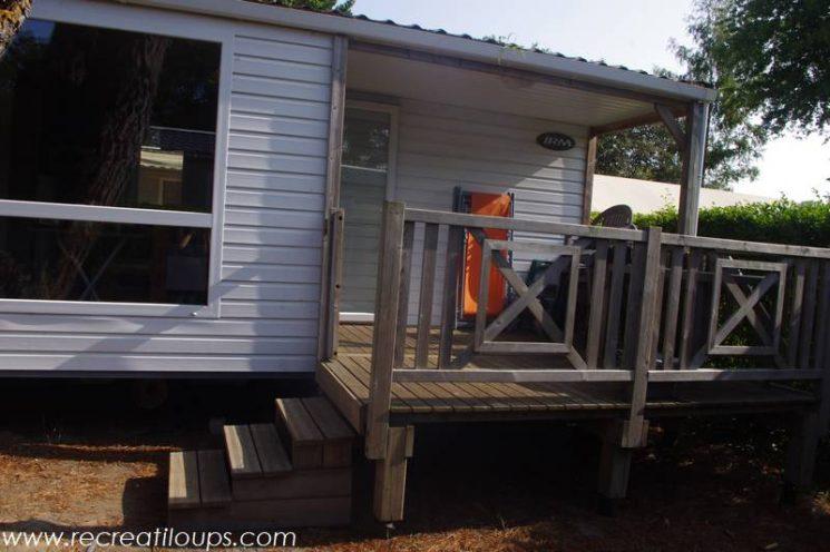 Notre mobil-home au Camping à Guérande