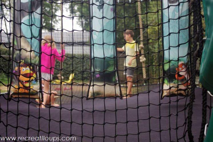 Trampoline filets pour les enfants