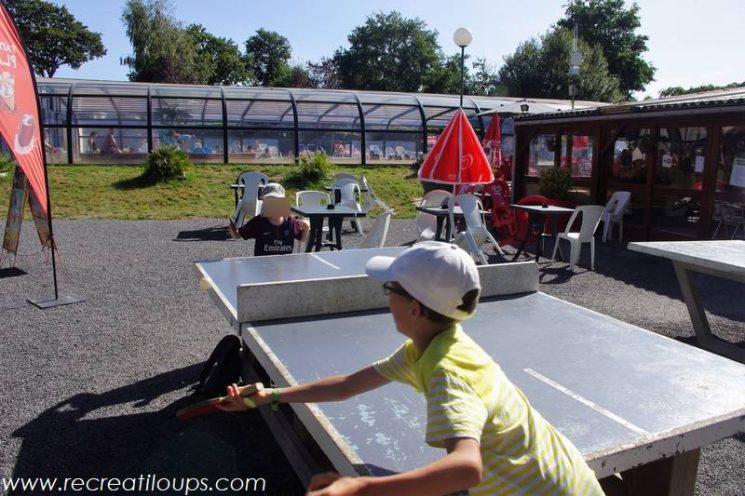 Ping Pong au soleil