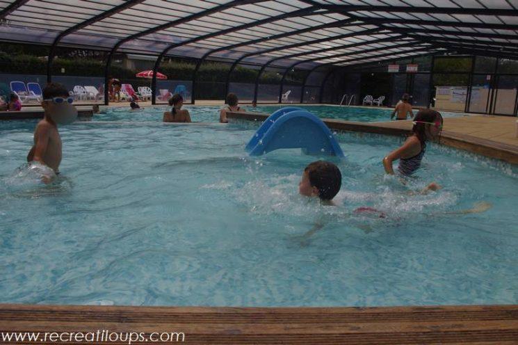 La piscine du camping, Guérande