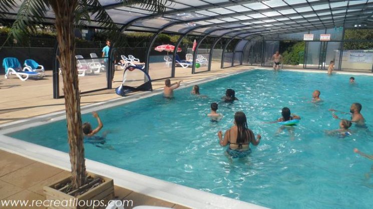 Animation waterpolo au camping