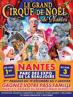 anniversaire cirque nantes